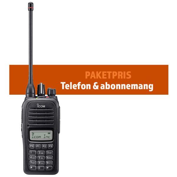 Paket Westel telefon & abonnemang. Telefonen som fungerar där inget annat fungerar.